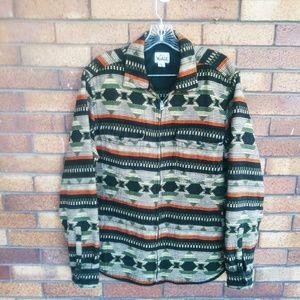Vintage Woolrich Navajo Cotton Jacket Size Medium